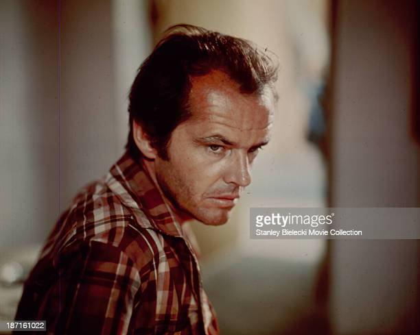Actor Jack Nicholson in a scene from the movie 'The Passenger', 1975.