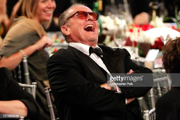 Actor Jack Nicholson in the audience during the 38th AFI Life Achievement Award honoring Mike Nichols held at Sony Pictures Studios on June 10 2010...