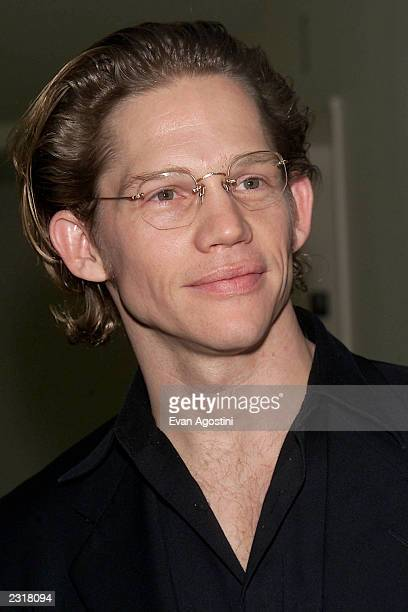 Actor Jack Noseworthy arriving at the world film premiere of Miramax's 'Iris' afterparty at the Fred's in New York City 12/2/2001 Photo Evan...