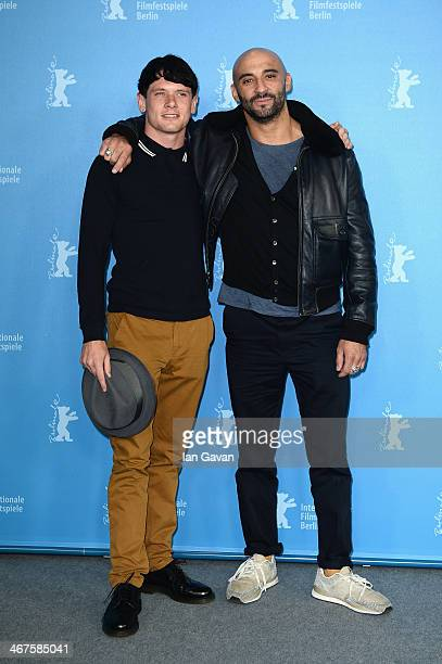 Actor Jack O'Connell and director Yann Demange attend the '71' photocall during the 64th Berlinale International Film Festival at Grand Hyatt Hotel...