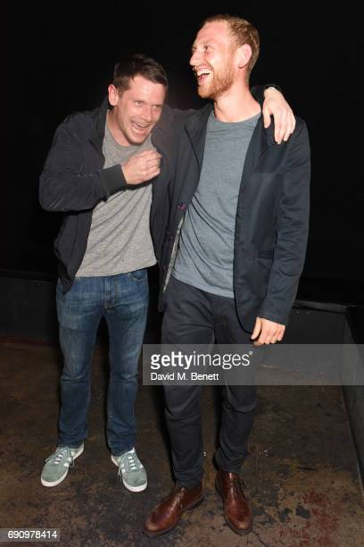 Actor Jack O'Connell and producer Daniel Emmerson attend a screening of the short film Robot Scarecrow starring Jack O'Connell and Holliday Grainger...