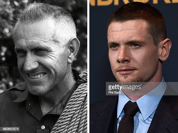 In this composite image a comparison has been made between Louis Zamperini and actor Jack O'Connell Actor Jack O'Connell will reportedly play...