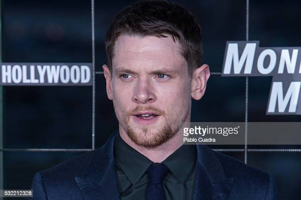 Actor Jack O'Connell attends 'Money Monster' premiere at Picasso Tower roof on May 18 2016 in Madrid Spain