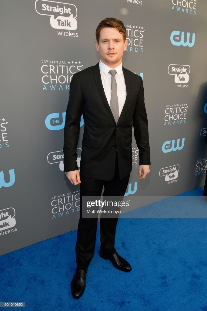 Actor Jack O'Connell attends The 23rd Annual Critics' Choice Awards at Barker Hangar on January 11, 2018 in Santa Monica, California.