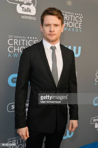 Actor Jack O'Connell attends The 23rd Annual Critics' Choice Awards at Barker Hangar on January 11 2018 in Santa Monica California