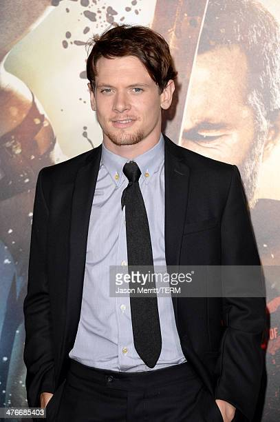 Actor Jack O'Connell attends the premiere of Warner Bros Pictures and Legendary Pictures' '300 Rise Of An Empire' at TCL Chinese Theatre on March 4...