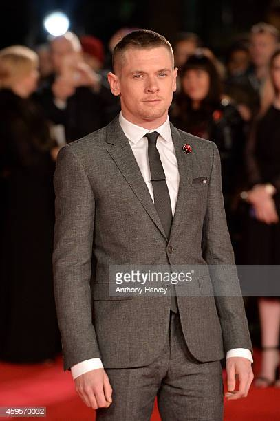 Actor Jack O'Connell attends the UK Premiere of Unbroken at Odeon Leicester Square on November 25 2014 in London England