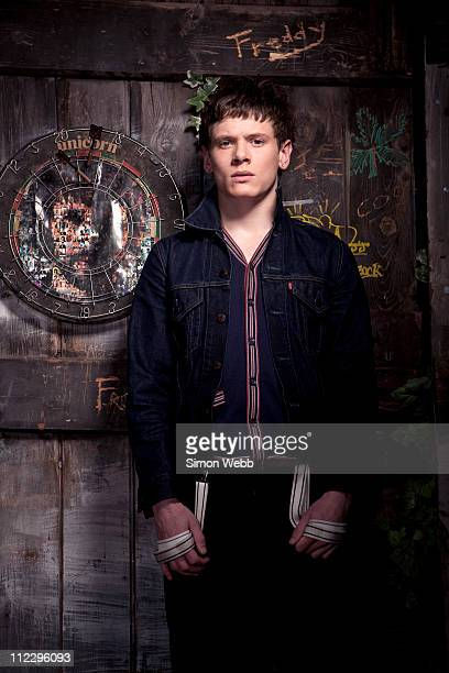 Actor Jack O'Connell is photographed for Sugar magazine on November 12 2008 in London England