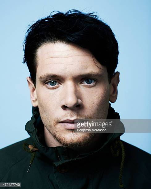 Actor Jack O'Connell is photographed for the Telegraph on February 13 2014 in London England
