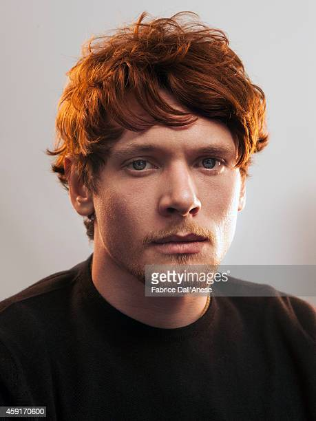 Actor Jack O'Connell is photographed for Vanity Fair Italy on April 21 2014 in New York United States