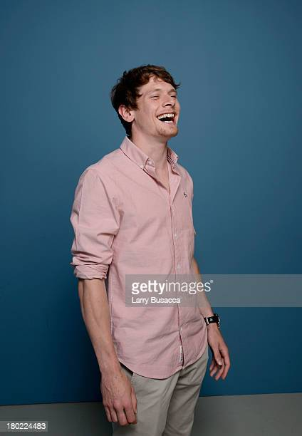 Actor Jack O'Connell of 'Starred Up' poses at the Guess Portrait Studio during 2013 Toronto International Film Festival on September 10 2013 in...