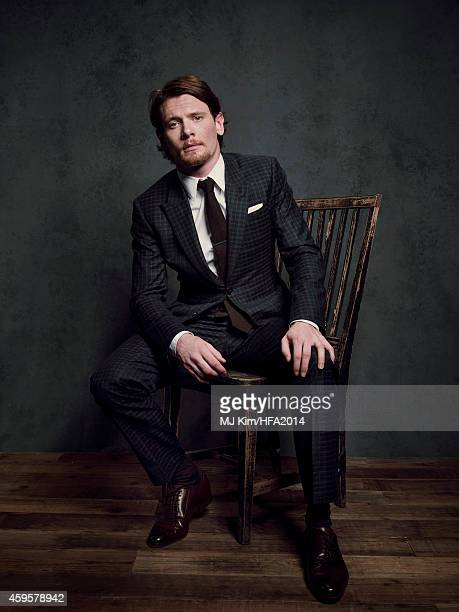 Actor Jack O'Connell poses for a portrait at the 18th Annual Hollywood Film Awards on November 14 2014 in Hollywood California