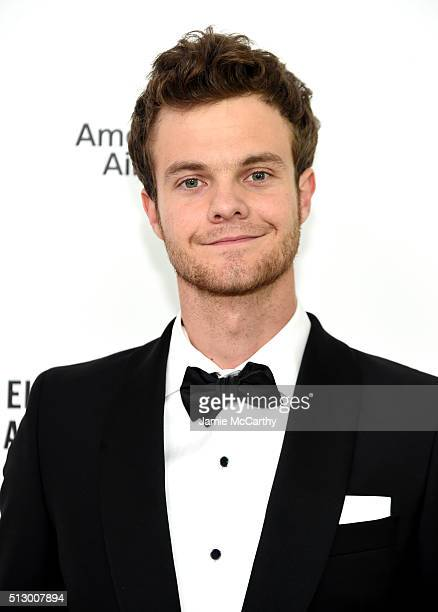 Actor Jack Quaid attends the 24th Annual Elton John AIDS Foundation's Oscar Viewing Party at The City of West Hollywood Park on February 28 2016 in...