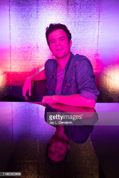 Actor Jack Quaid of 'The Boys' are photographed for Los Angeles Times at ComicCon International on July 20 2019 in San Diego California PUBLISHED...