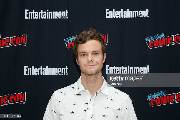 Actor Jack Quaid participates in Entertainment Weekly's Breaking Big panel at New York Comic Con on October 7 2018 in New York City