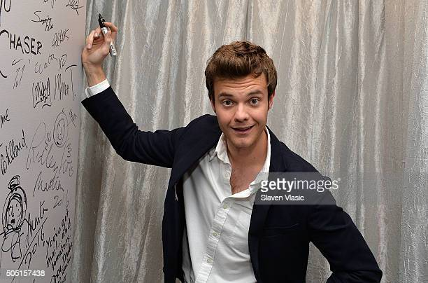 Actor Jack Quaid visits AOL Build Speaker Series to discuss the new HBO drama Vinyl at AOL Studios In New York on January 15 2016 in New York City