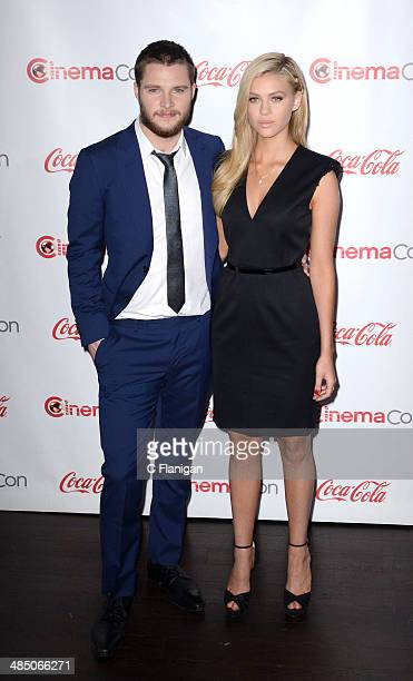 Actor Jack Reynor and Actress Nicola Peltz attend the Big Screen Achievement Awards during CinemaCon 2014 on March 27 2014 in Las Vegas Nevada
