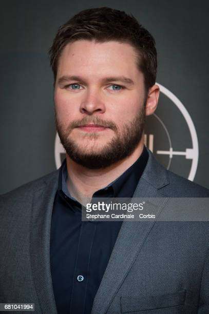 Actor Jack Reynor attends the 'HHhH' Paris Premiere at Cinema UGC Normandie on May 9 2017 in Paris France