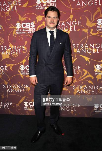 Actor Jack Reynor attends the premiere of CBS All Access' Strange Angel at Avalon on June 4 2018 in Hollywood California