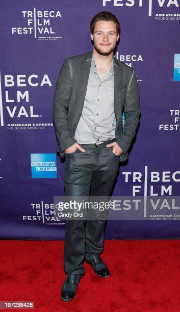 Actor Jack Reynor attends the 'What Richard Did' US Premiere during the 2013 Tribeca Film Festival on April 22 2013 in New York City
