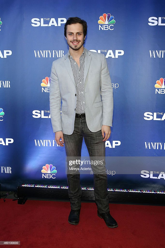 Actor Jack Robinson attends 'The Slap' New York Premiere Party at The New Museum on February 9, 2015 in New York City.