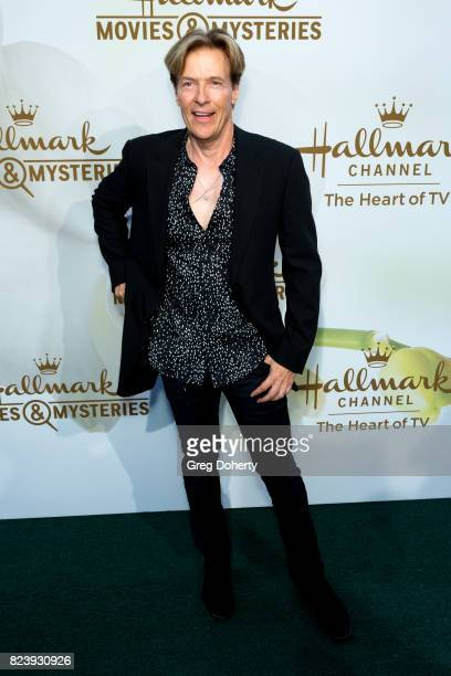 Actor Jack Wagner arrives for the 2017 Summer TCA Tour Hallmark Channel And Hallmark Movies And Mysteries on July 27 2017 in Beverly Hills California