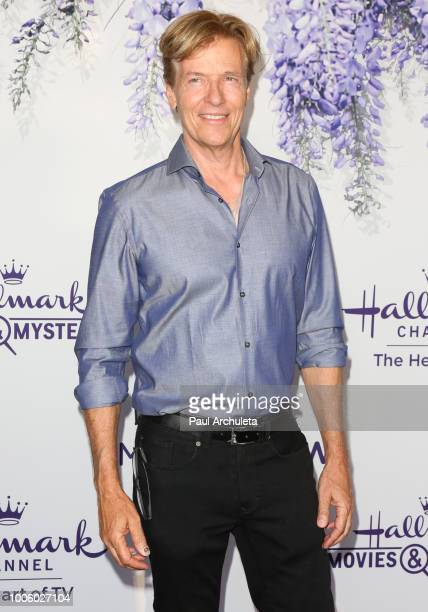 Actor Jack Wagner attends the 2018 Hallmark Channel Summer TCA at Private Residence on July 26 2018 in Beverly Hills California