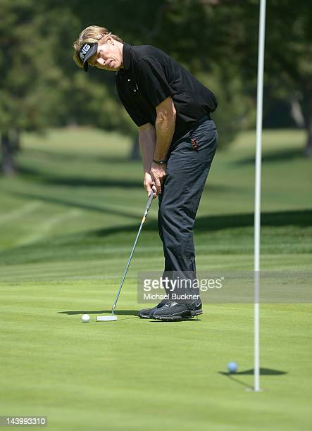 Actor Jack Wagner attends the 5th Annual George Lopez Celebrity Golf Classic to Benefit The Lopez Foundation at Lakeside Golf Club on May 7 2012 in...