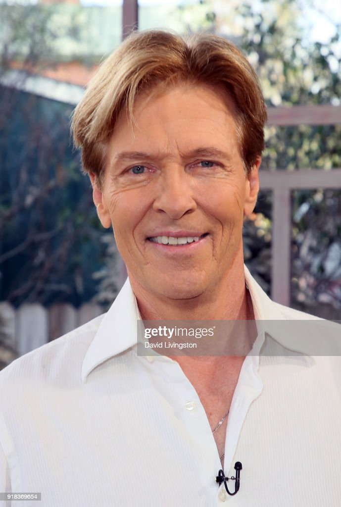 Actor Jack Wagner visits Hallmark's 'Home & Family' at Universal Studios Hollywood on February 14, 2018 in Universal City, California.
