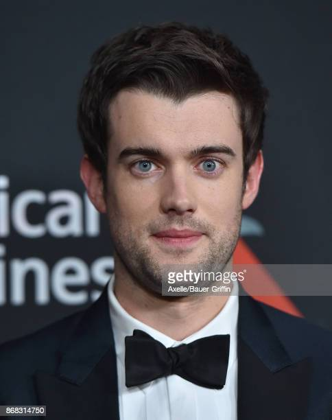 Actor Jack Whitehall arrives at the 2017 AMD British Academy Britannia Awards at The Beverly Hilton Hotel on October 27, 2017 in Beverly Hills,...