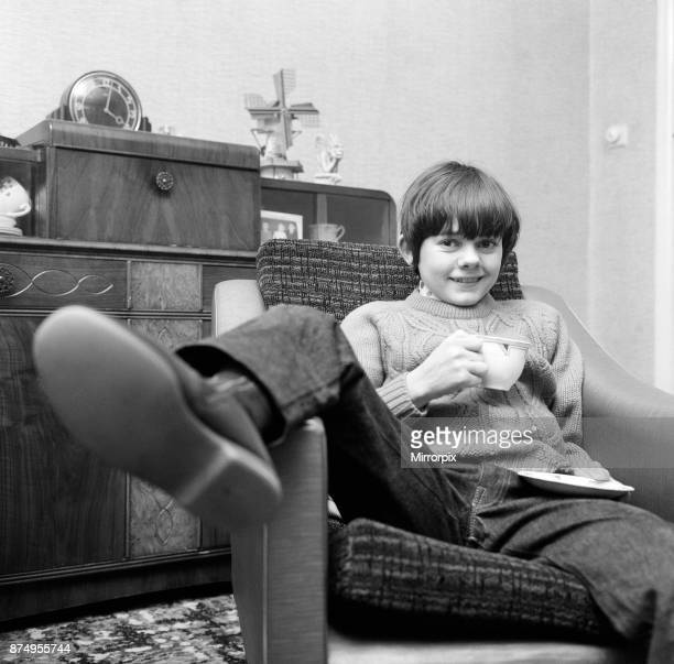 Actor Jack Wild who played the role of the Artful Dodger in the 1968 Lionel Bart musical film Oliver Pictured at home 28th February 1969