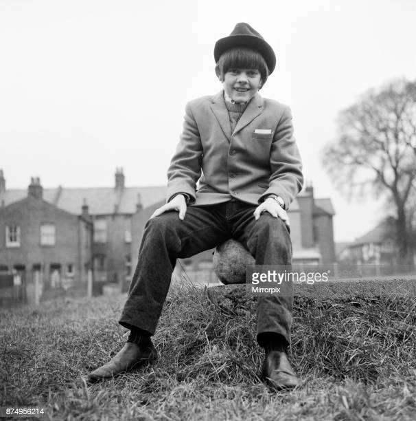 Actor Jack Wild who played the role of the Artful Dodger in the 1968 Lionel Bart musical film Oliver! Pictured in his local park, 28th February 1969.