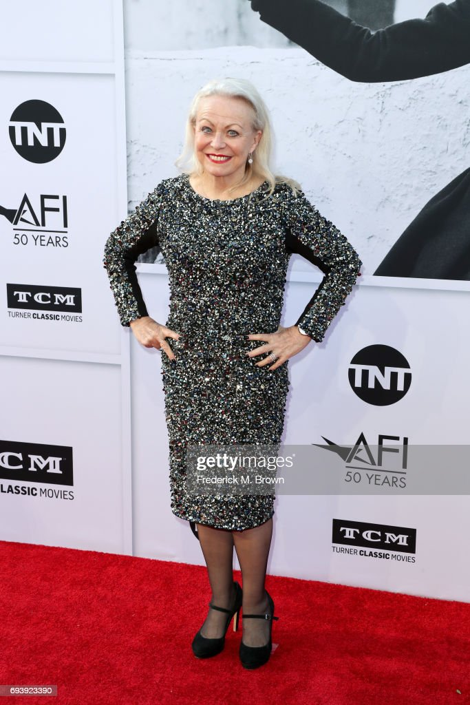 Actor Jacki Weaver arrives at American Film Institute's 45th Life Achievement Award Gala Tribute to Diane Keaton at Dolby Theatre on June 8, 2017 in Hollywood, California. 26658_005
