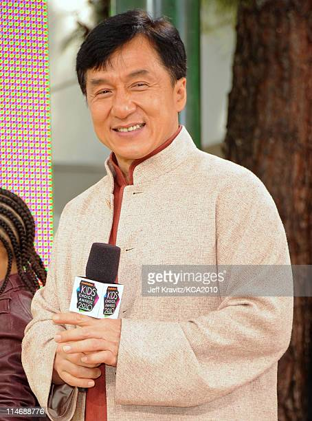 Actor Jackie Chan arrives at Nickelodeon's 23rd Annual Kids' Choice Awards held at UCLA's Pauley Pavilion on March 27, 2010 in Los Angeles,...