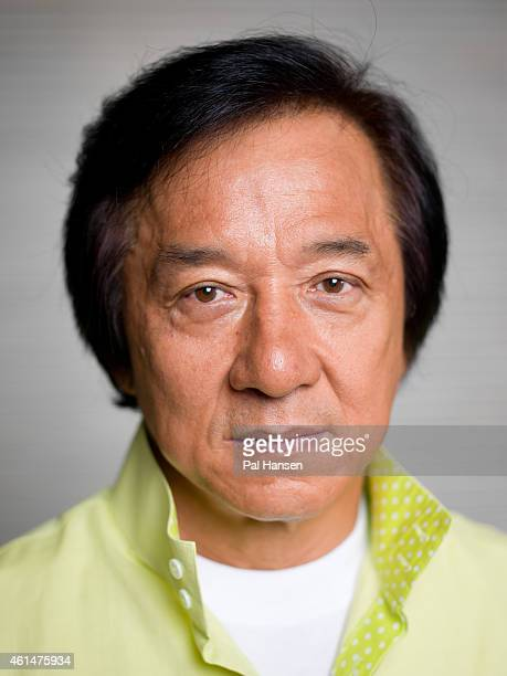Actor Jackie Chan is photographed for the Observer on August 5, 2014 in London, England.