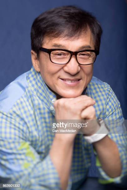 Actor Jackie Chan is photographed for USA Today on September 20 2017 in Beverly Hills California PUBLISHED IMAGE