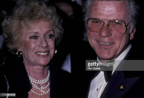 Actor Jackie Cooper and wife Barbara Cooper attend 32nd Annual Directors Guild of America Awards on March 15 1980 at the Beverly Hilton Hotel in...