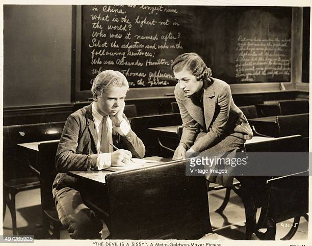 Actor Jackie Cooper in a scene from the MGM film 'The Devil Takes the Count' aka 'The Devil is a Sissy' 1936