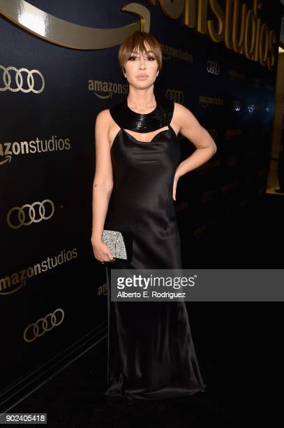 Actor Jackie Cruz attends Amazon Studios' Golden Globes Celebration at The Beverly Hilton Hotel on January 7 2018 in Beverly Hills California