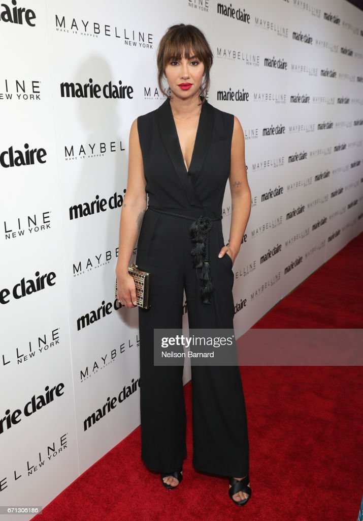 Actor Jackie Cruz attends Marie Claire's 'Fresh Faces' celebration with an event sponsored by Maybelline at Doheny Room on April 21, 2017 in West Hollywood, California.