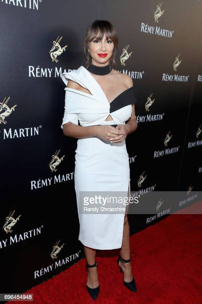 Actor Jackie Cruz attends Remy Martin's special evening with Jeremy Renner and Fetty Wap celebrating The Exceptional at Eric Buterbaugh Floral on...