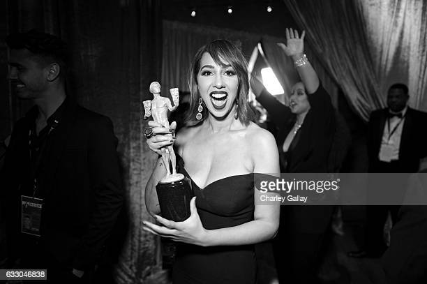 Actor Jackie Cruz attends The 23rd Annual Screen Actors Guild Awards at The Shrine Auditorium on January 29 2017 in Los Angeles California 26592_010