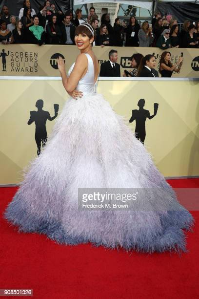 Actor Jackie Cruz attends the 24th Annual Screen Actors Guild Awards at The Shrine Auditorium on January 21 2018 in Los Angeles California 27522_017