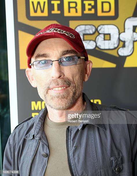 Actor Jackie Earle Haley attends Day 3 of the WIRED Cafe at Comic-Con 2010 held at the Omni Hotel on July 24, 2010 in San Diego, California.
