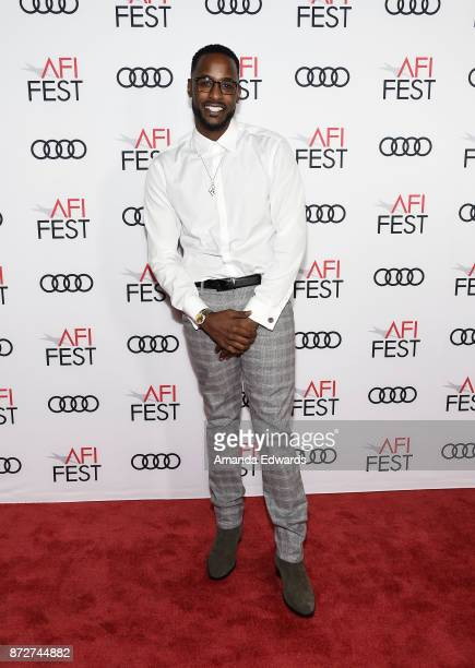 Actor Jackie Long arrives at the AFI FEST 2017 Filmmakers' Photo Call at the TCL Chinese 6 Theatres on November 10 2017 in Hollywood California