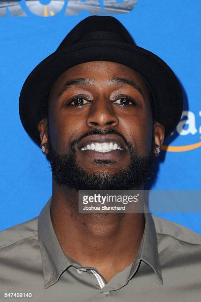 Actor Jackie Long arrives at the premiere of Amazon Studios' Gleason at Regal LA Live Stadium 14 on July 14 2016 in Los Angeles California