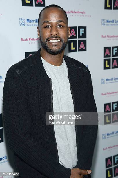 Actor Jackie Long attends Russell Simmons' Rush Philanthropic Arts Foundation's inaugural Art For Life Los Angeles at Private Residence on May 3 2016...