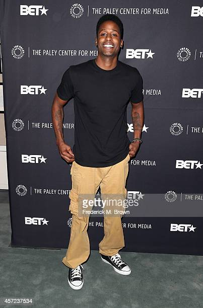 Actor Jackie Long attends The Paley Center for Media Presents 'An Evening with Real Husbands of Hollywood' at The Paley Center for Media on October...
