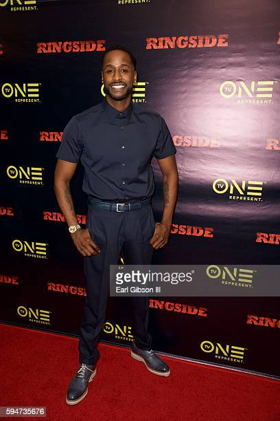 Actor Jackie Long attends the SAGAFTRA Foundation Conversations With 'Ringside' at SAGAFTRA Foundation on August 23 2016 in Los Angeles California