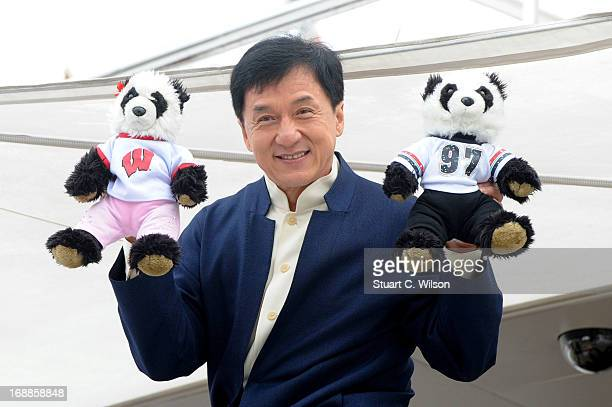 Actor JackieChan attends the 'Skiptrace' Photocall during the 66th Annual Cannes Film Festival at the Palais des Festivals on May 16 2013 in Cannes...